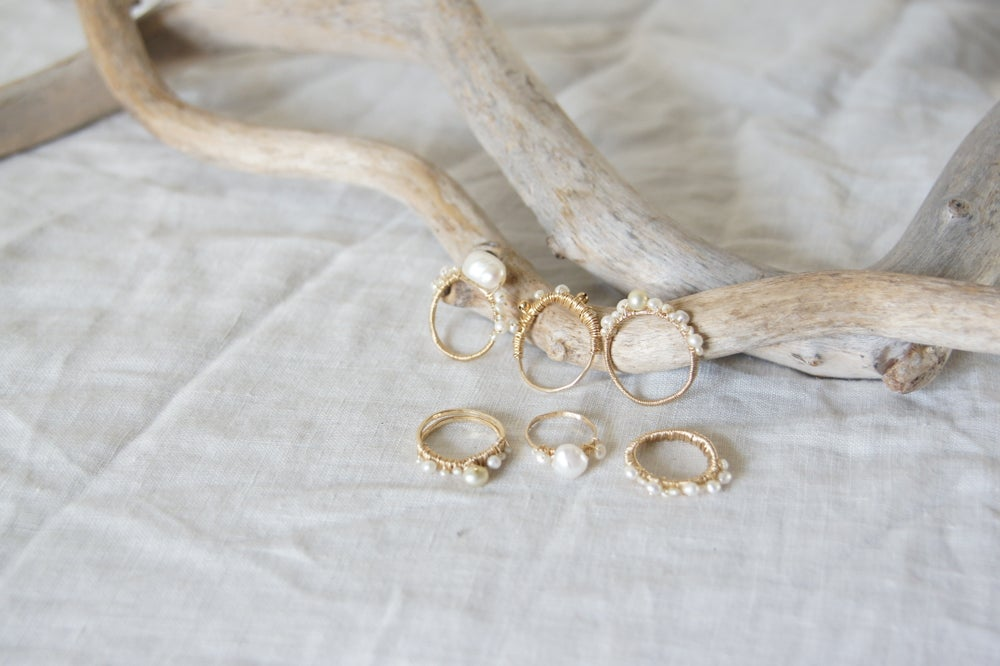 Image of Serena Pearl Ring III
