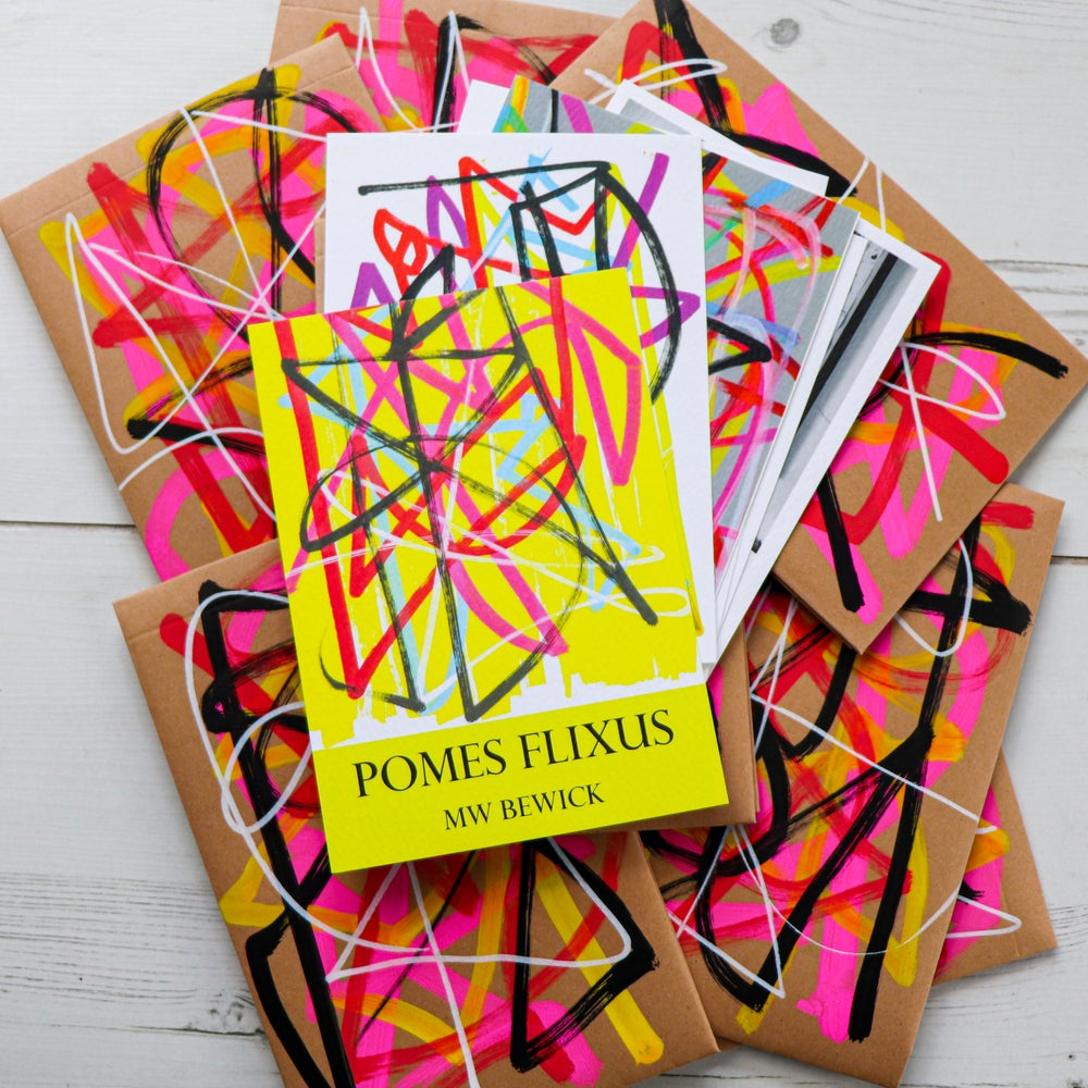 Image of POMES FLIXUS Limited Edition Postcards (set of six)