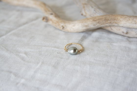 Image of Serena Tahitain Pearl Ring IV