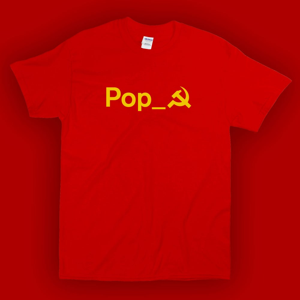 Image of ТOВАРИЩ POP X: T-Shirt (rossa)