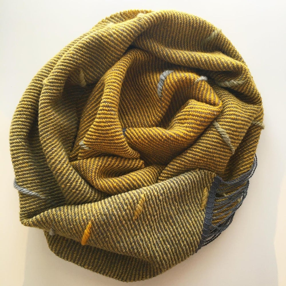 Image of Scarf Puff - Yellow