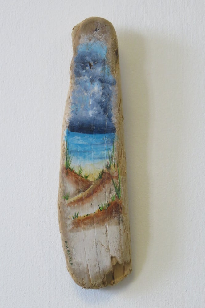 Image of Driftwood Through the Dunes