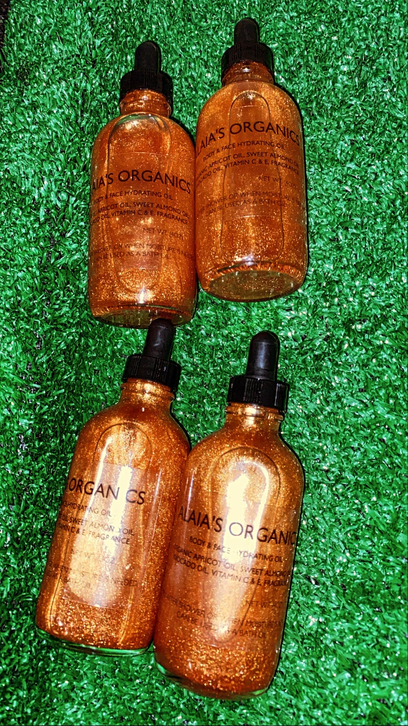 Image of Golden Glow Body Oil