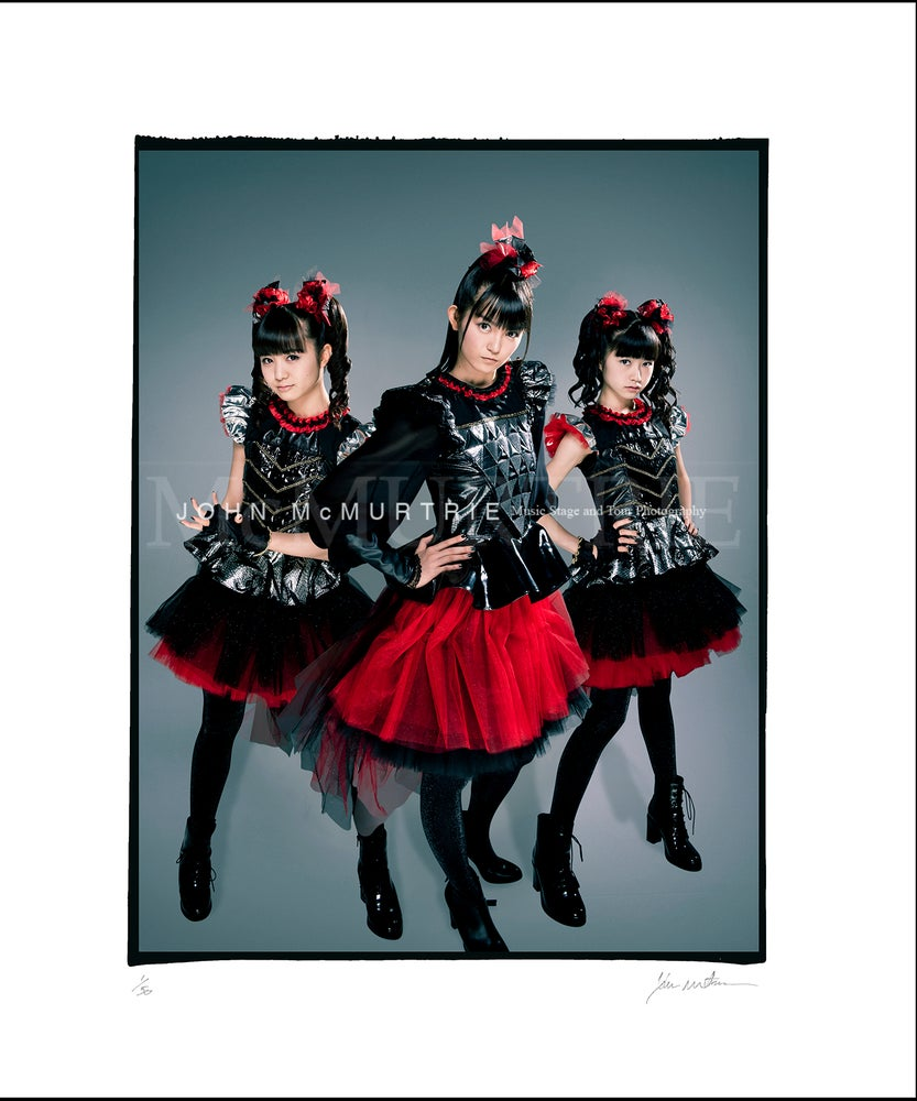 Image of BABYMETAL - EXCLUSIVE STUDIO PORTRAIT GRADED