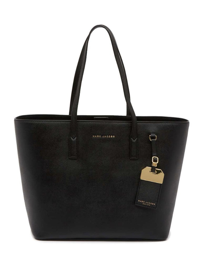 Image of NWT Marc Jacobs Black Travel Luggage Tote