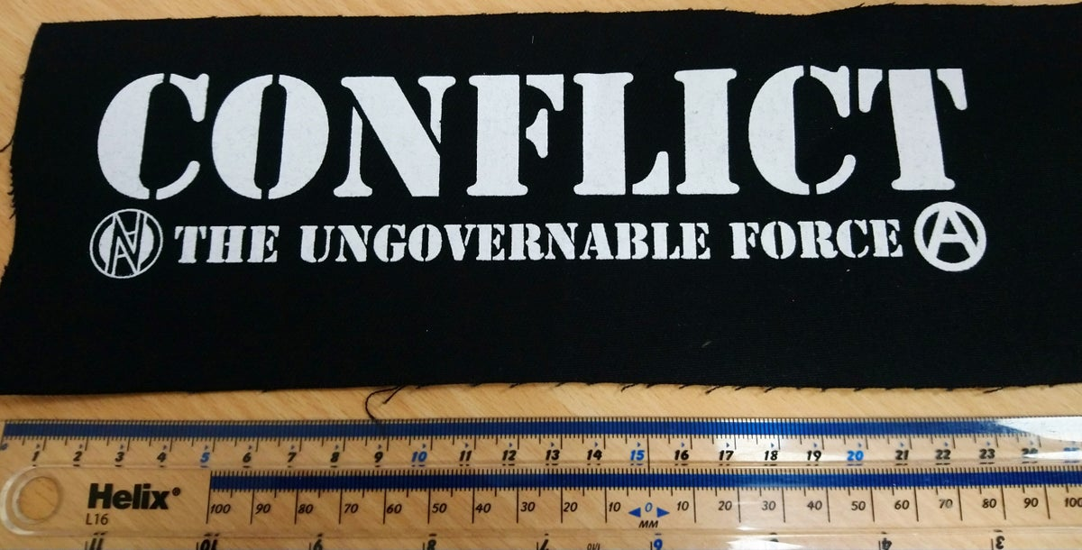 Image of Conflict - Ungovernable Force Large Patch