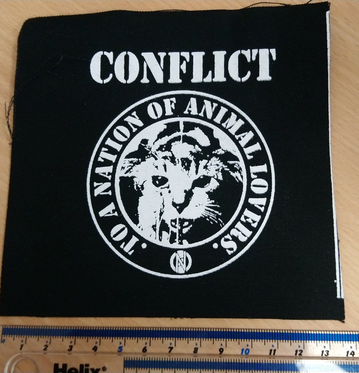 Image of Conflict - Animal Lovers Patch