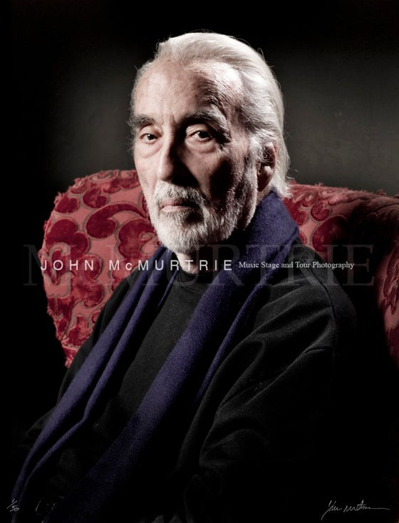 Image of SIR CHRISTOPHER LEE 20x16