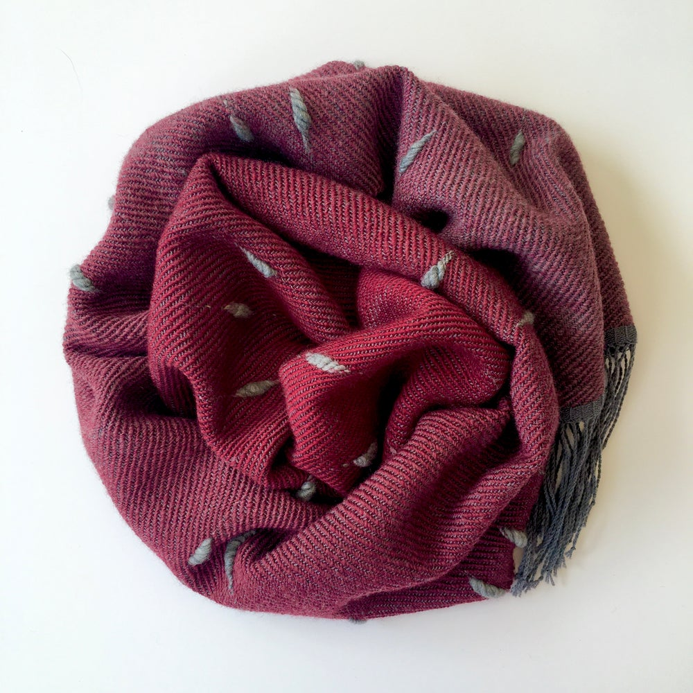 Image of Scarf Puff - Red