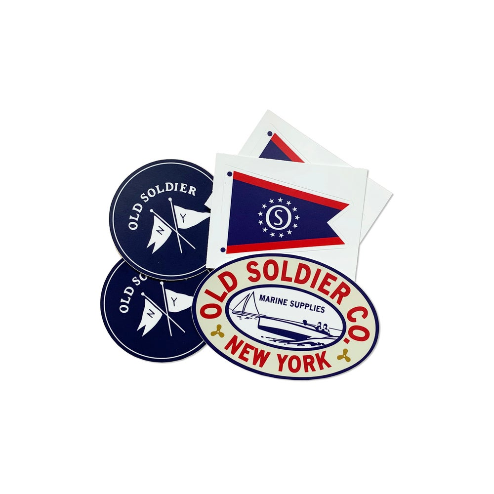 Image of Marine Supplies Sticker Pack