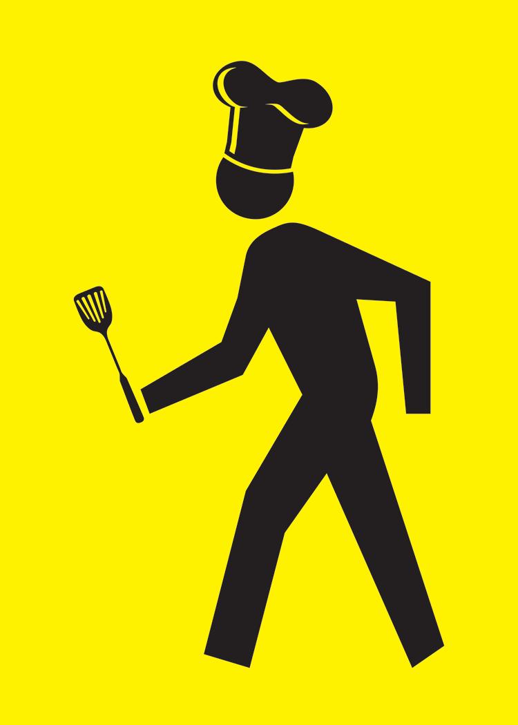 Walking Man Grilling Man Collection