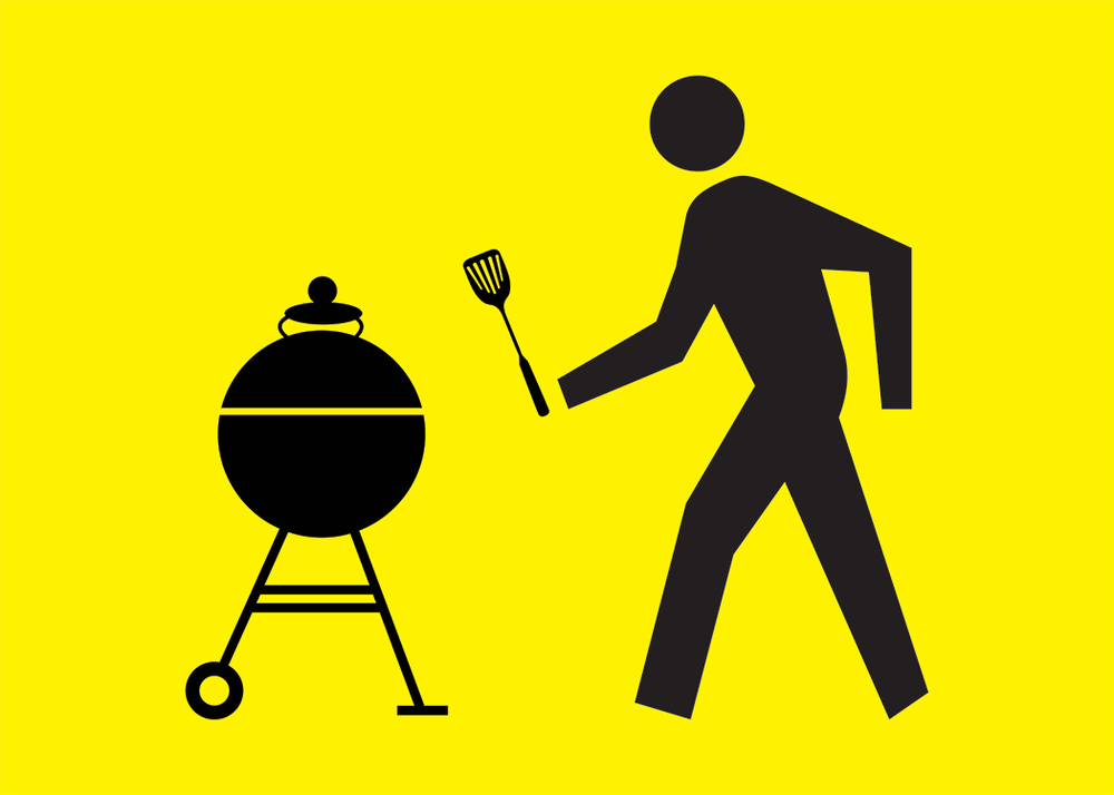 Walking Man Grilling Man Collection