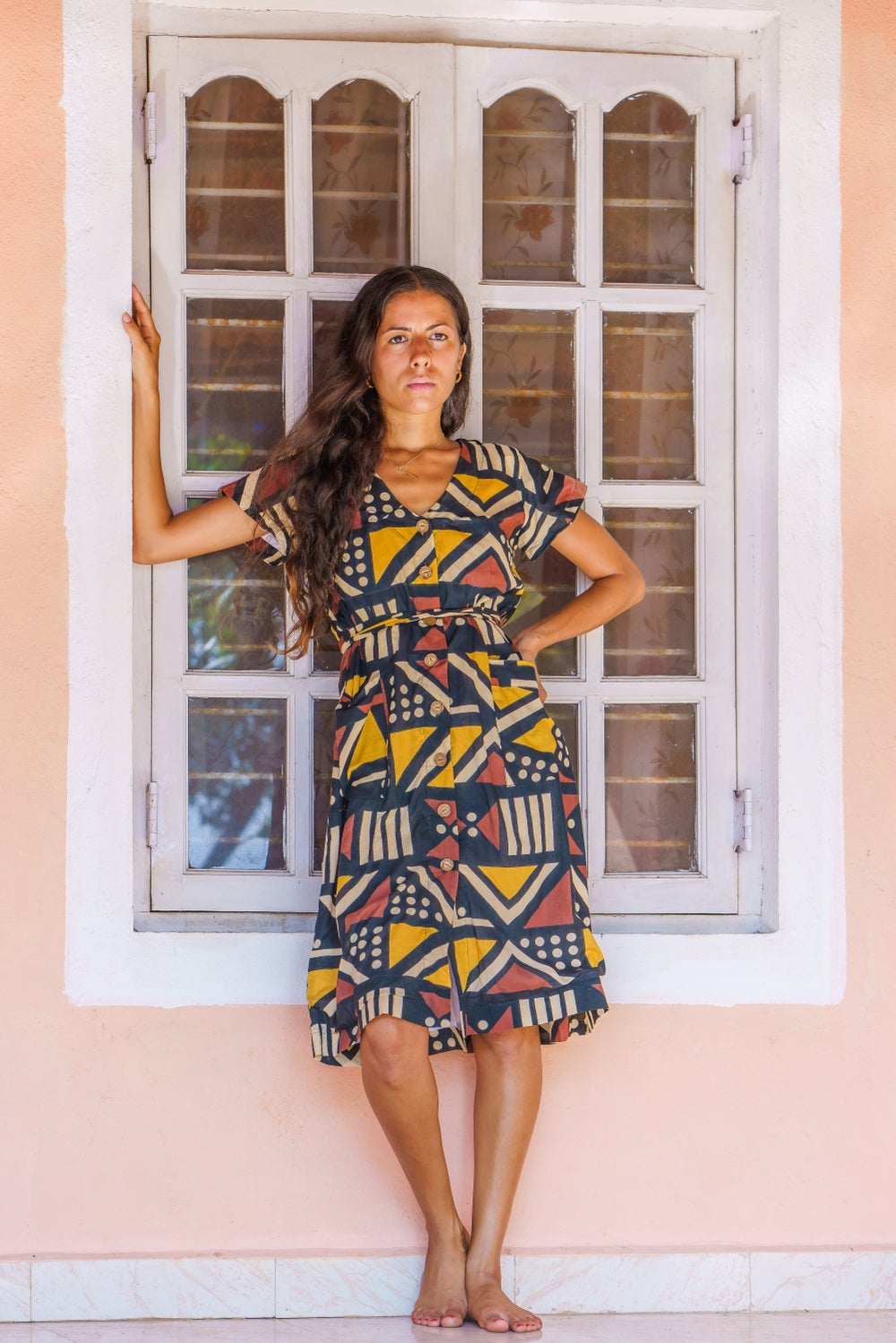 Image of Siale Wrap Dress