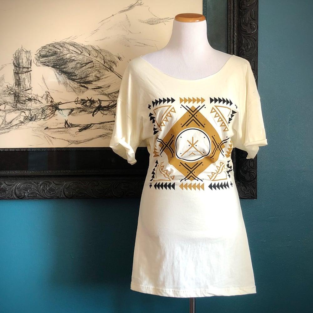 Image of Arrows Remix T-Shirt Dress
