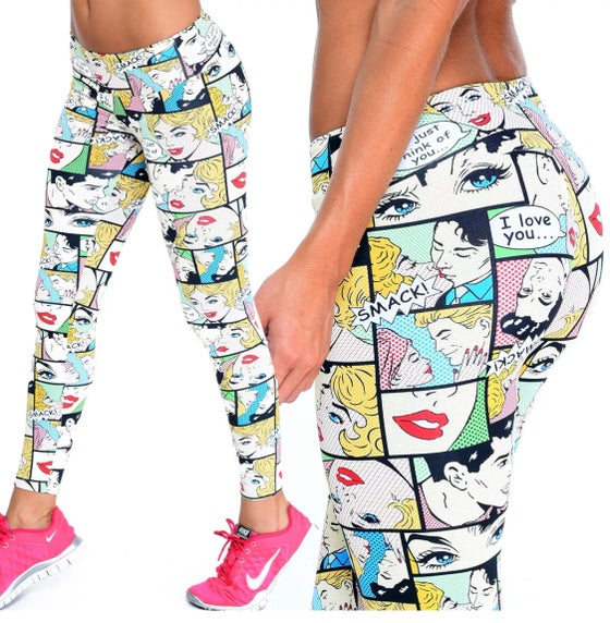 Image of Comicons Brazilian Supplex leggings