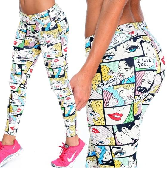 Image of Comicons Brazilian Supplex leggings