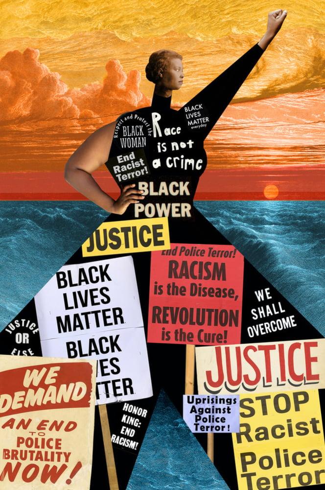 Image of Black Lives Matter. Plate No.410