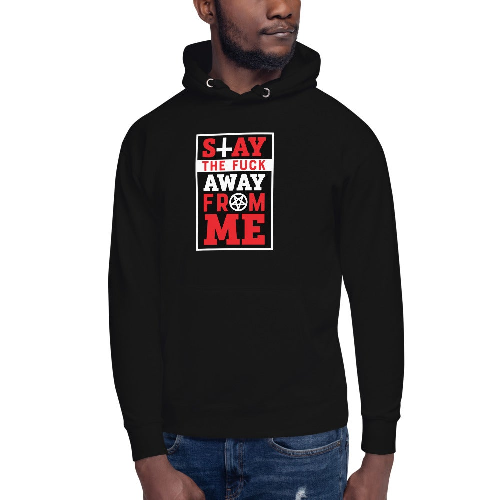 AshemaDeva Stay The Fuck Away From Me Unisex Hoodie