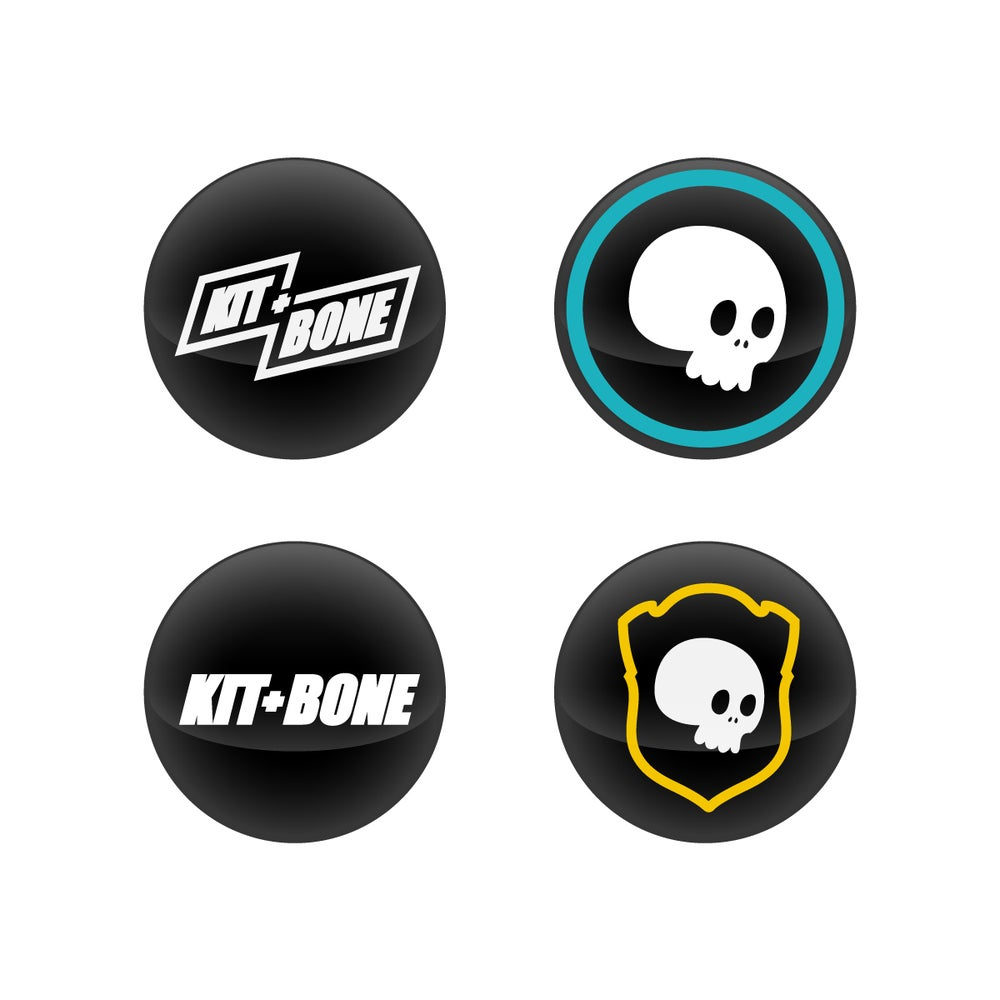 Image of Logo Badges 4 Set