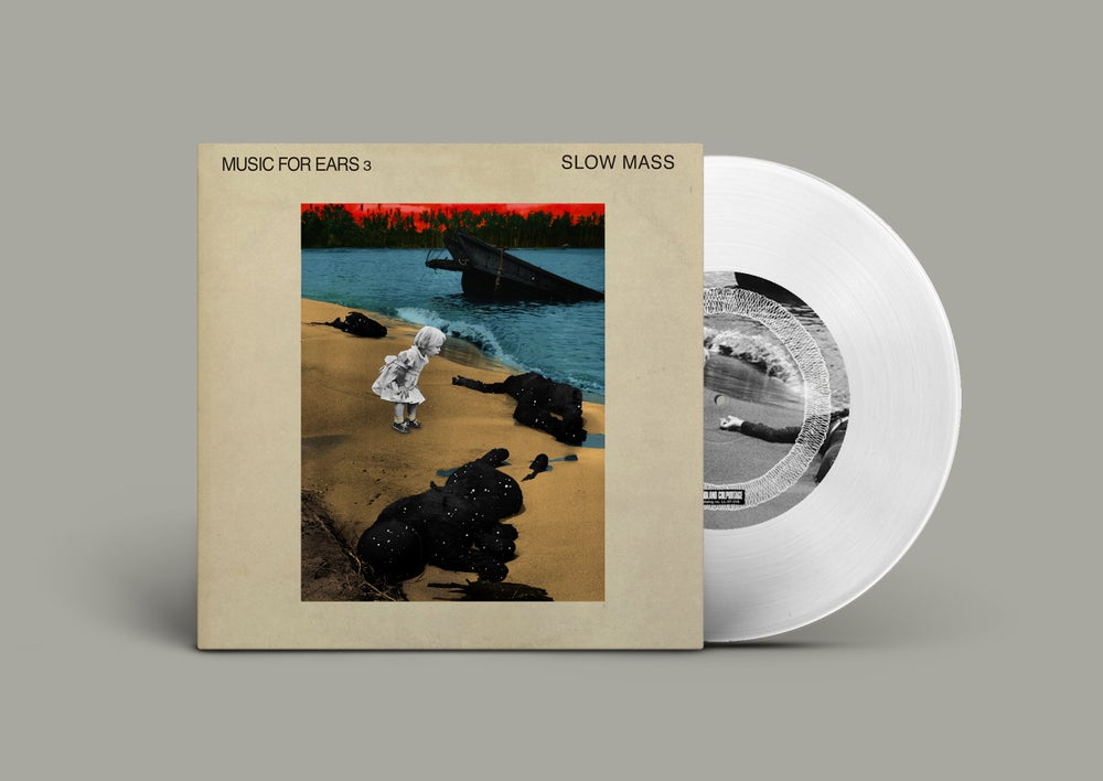 "Slow Mass ""Music For Ears 3"" 7"" EP • Ltd. Edition Vinyl Record"