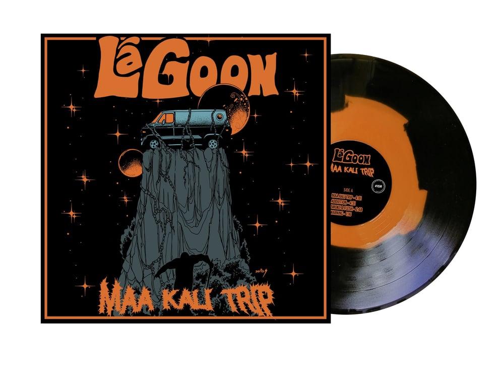 "Image of LaGoon ""MAA KALI TRIP"" ORANGE HAZE VINYL LIMITED EDITION"