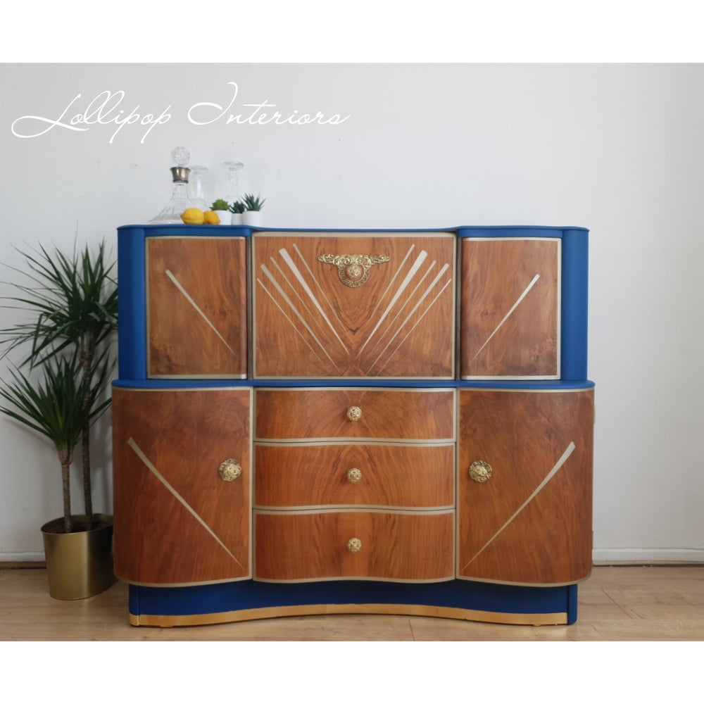 Image of Beautility cocktail bar cabinet