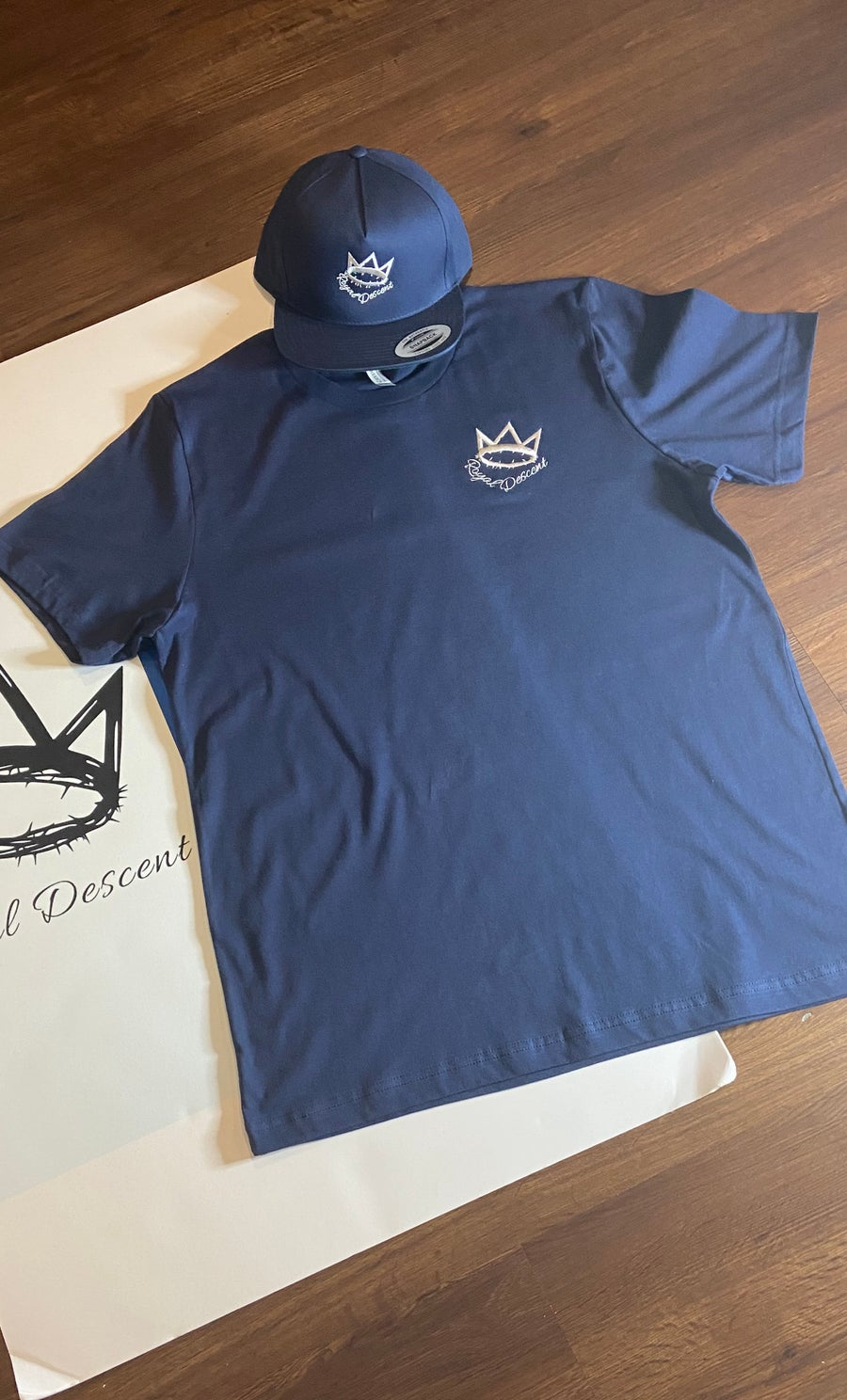 Image of HEIR TO THE THRONE 2 (Embroidered Tees)