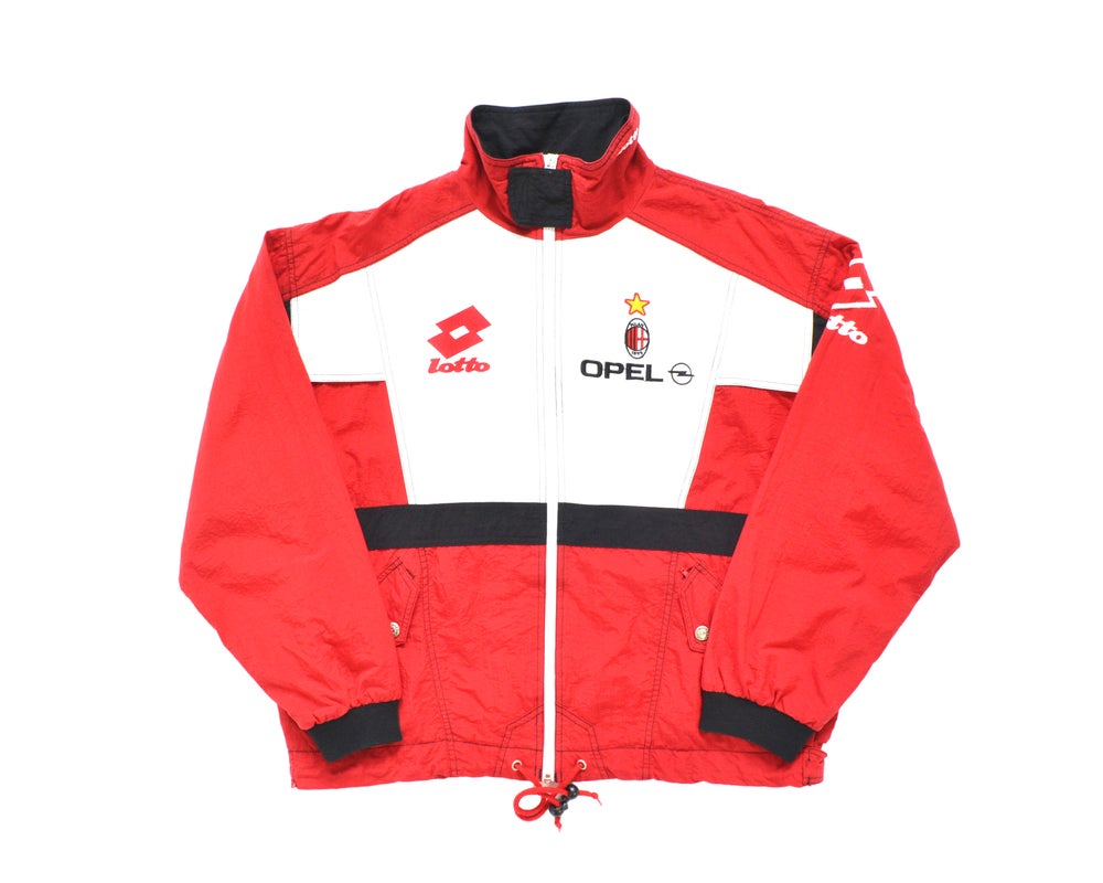 Image of 1995-96 Lotto AC Milan Track Top XL