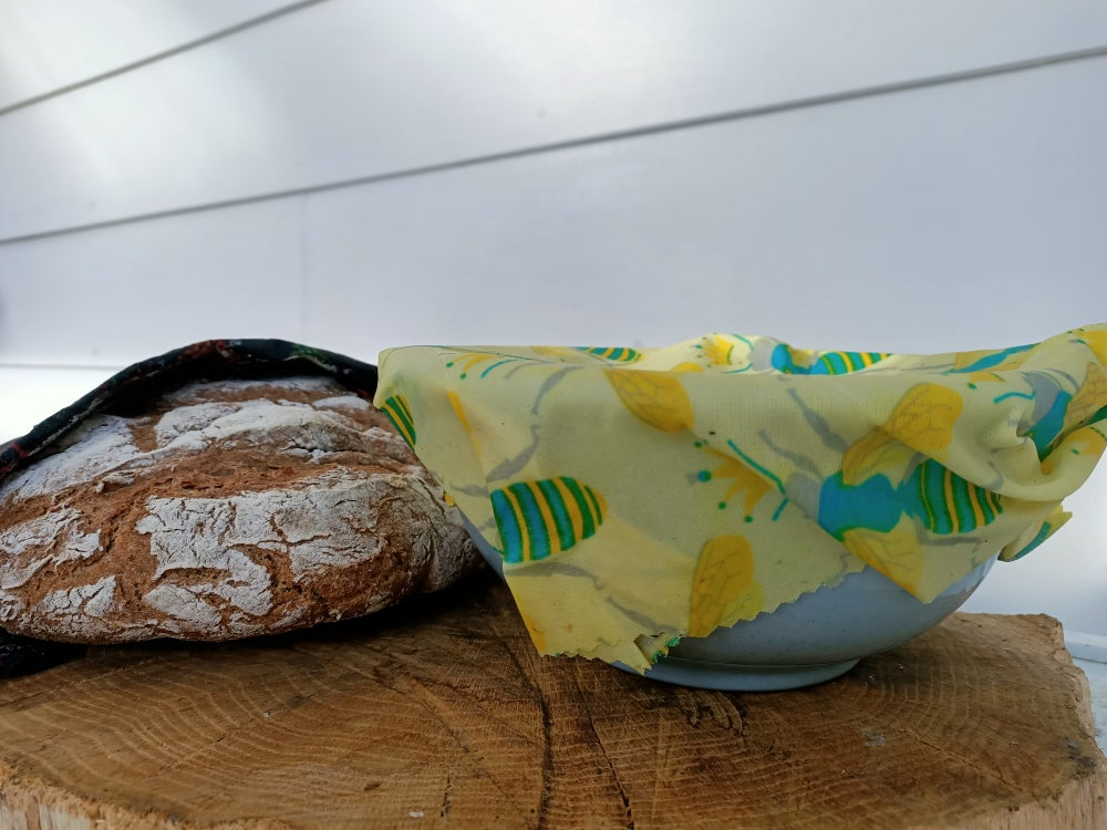 Image of Beeswax food wraps 3 pack