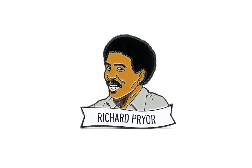 Image of Richard Pryor Enamel Pin
