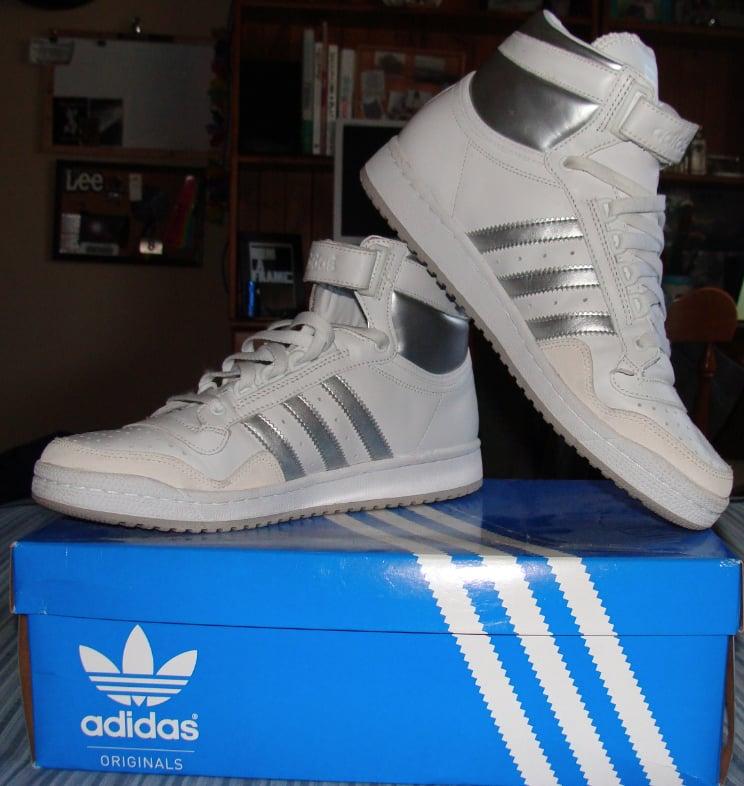 Adidas Hi Top Shoes sz10