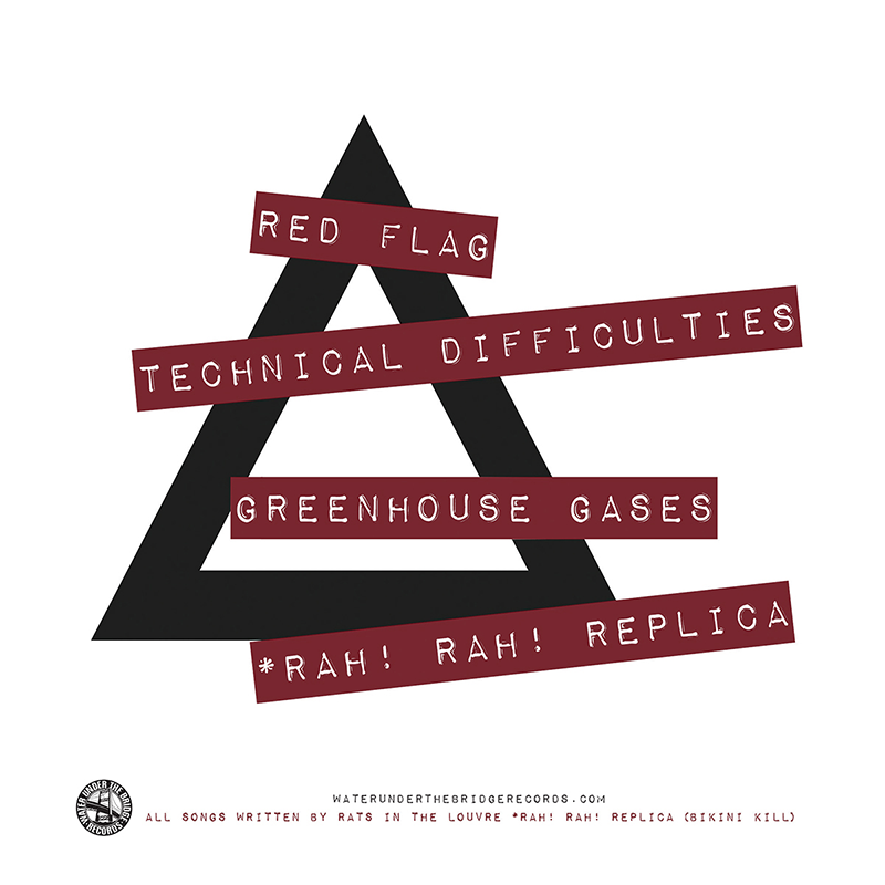 """RATS IN THE LOUVRE - Red Flag → 7"""" ep"""