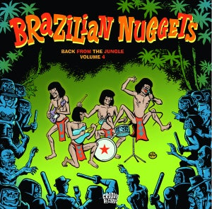 Image of LP. V.A. : Brazilian Nuggets Vol 4.
