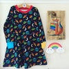 Kids Long Sleeve Skater Dress