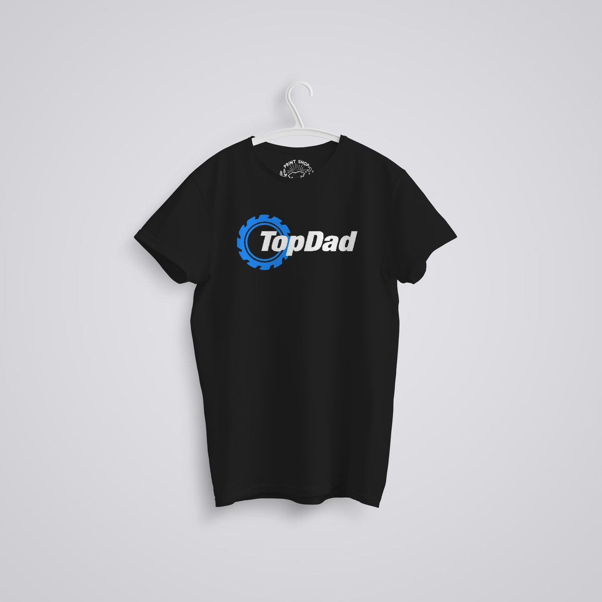 Image of Top Dad Top Gear Father's Day Organic T-Shirt
