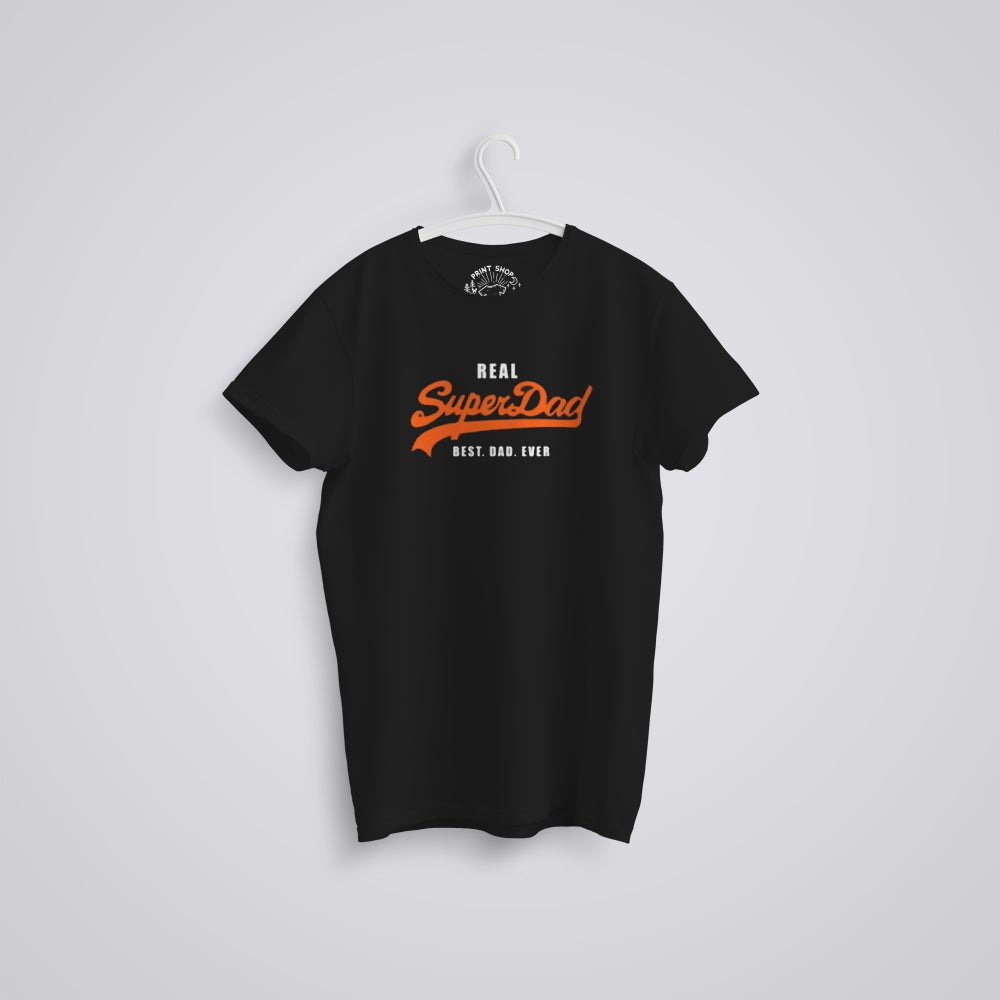 Image of Super Dad Father's Day Organic T-Shirt