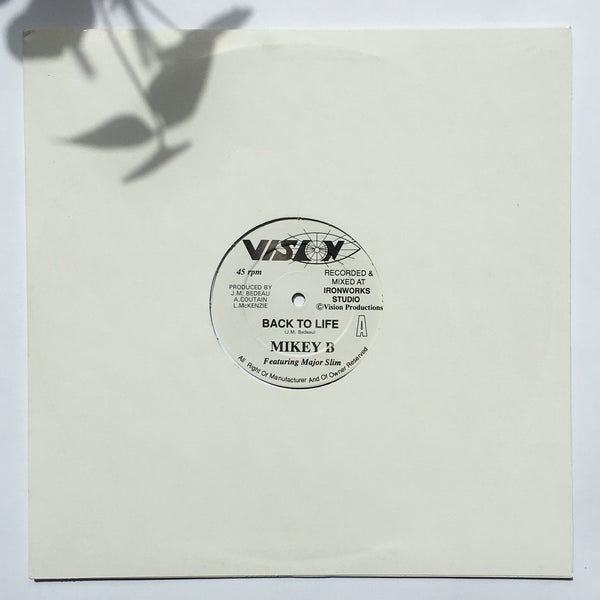 Image of MIKEY B - BACK TO LIFE 12""