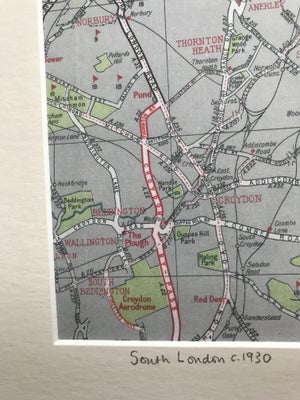Image of South London c.1930 (Croydon to Crystal Palace)