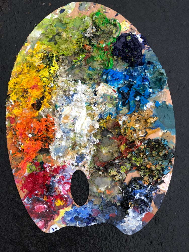 Image of Palette Jan- March 2020
