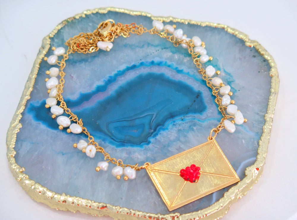 Image of Lovely Mail Necklace