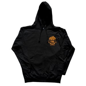 Image of Confusion - SKATE RODENT hoodie [black]
