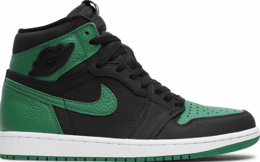 "Image of Nike Retro Air Jordan 1 ""Pine Green"" Sz 8.5"
