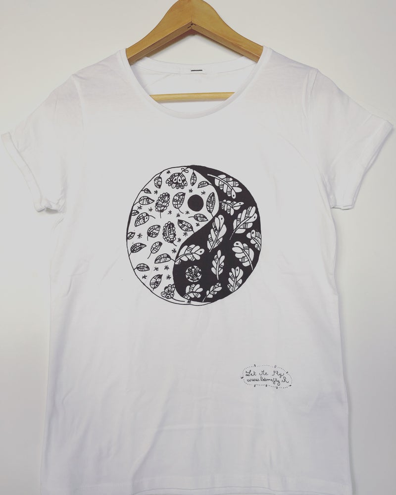 Image of Woman Tee-shirt *Yin&Yang*