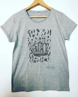 Image of Woman Tee-shirt *Magic Stones*