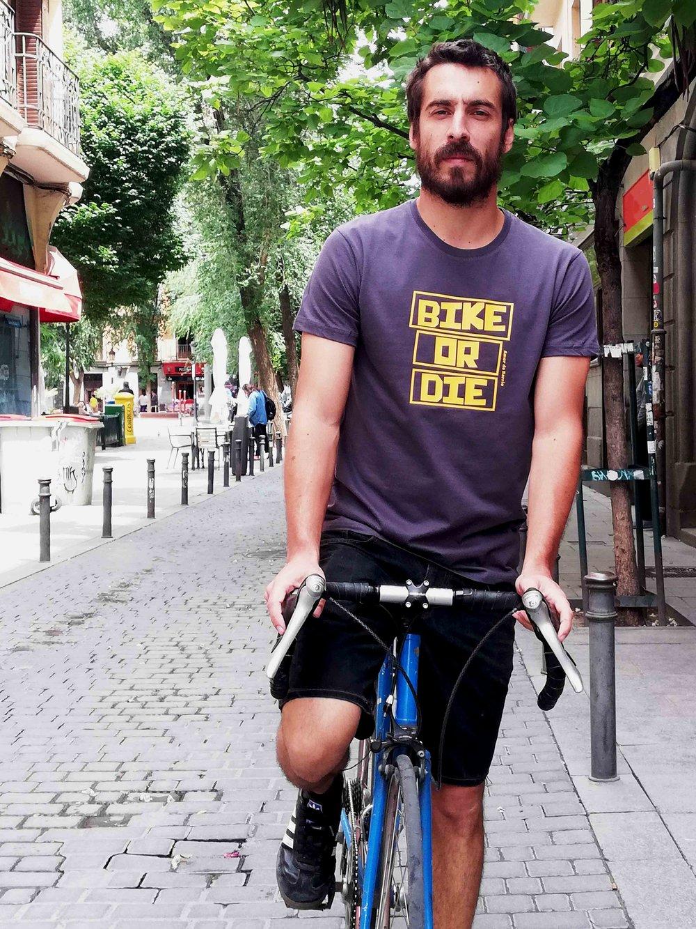 Camiseta Bike or Die