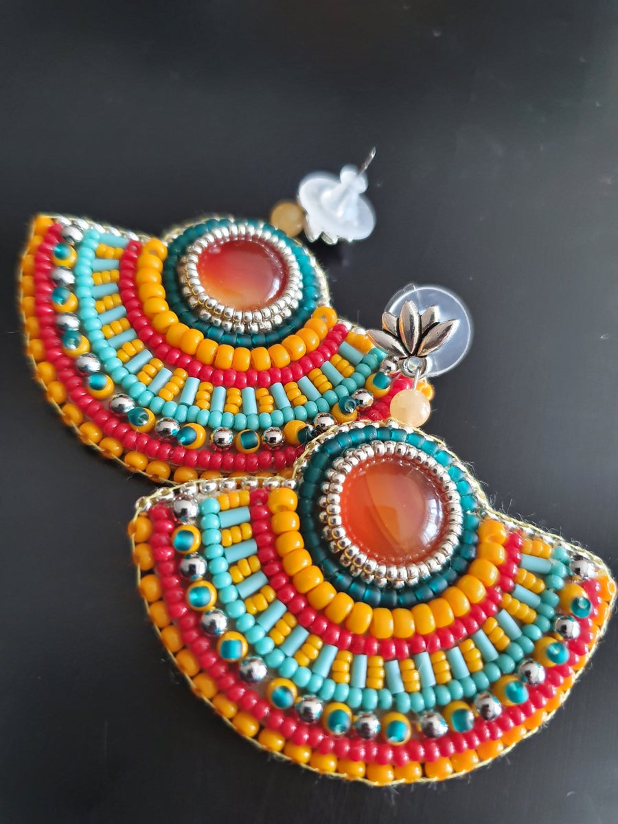 Image of Boucles d'oreilles PURES COLORS