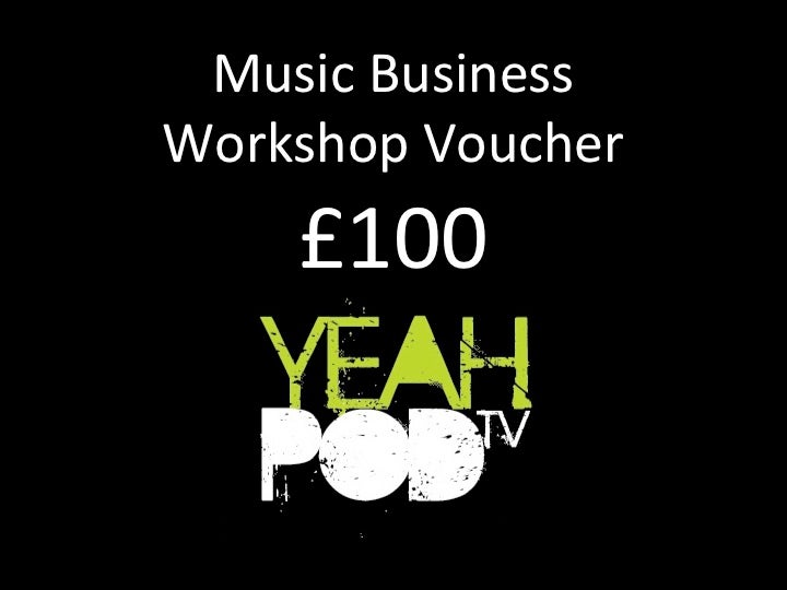 Image of Music Business Workshop Voucher