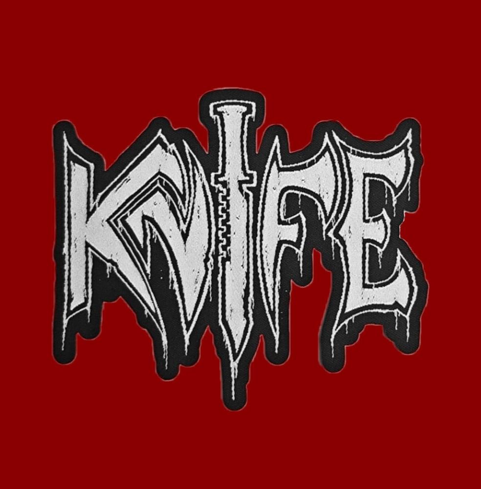 Image of KNIFE - Logo patch