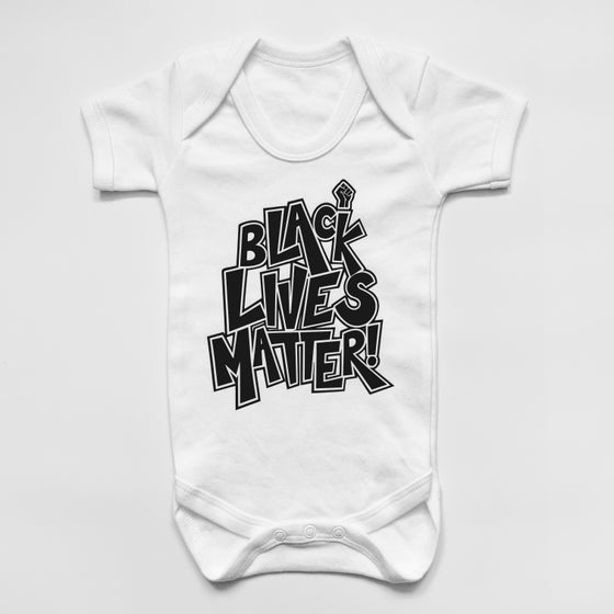 Image of 'BLM' Baby Grow