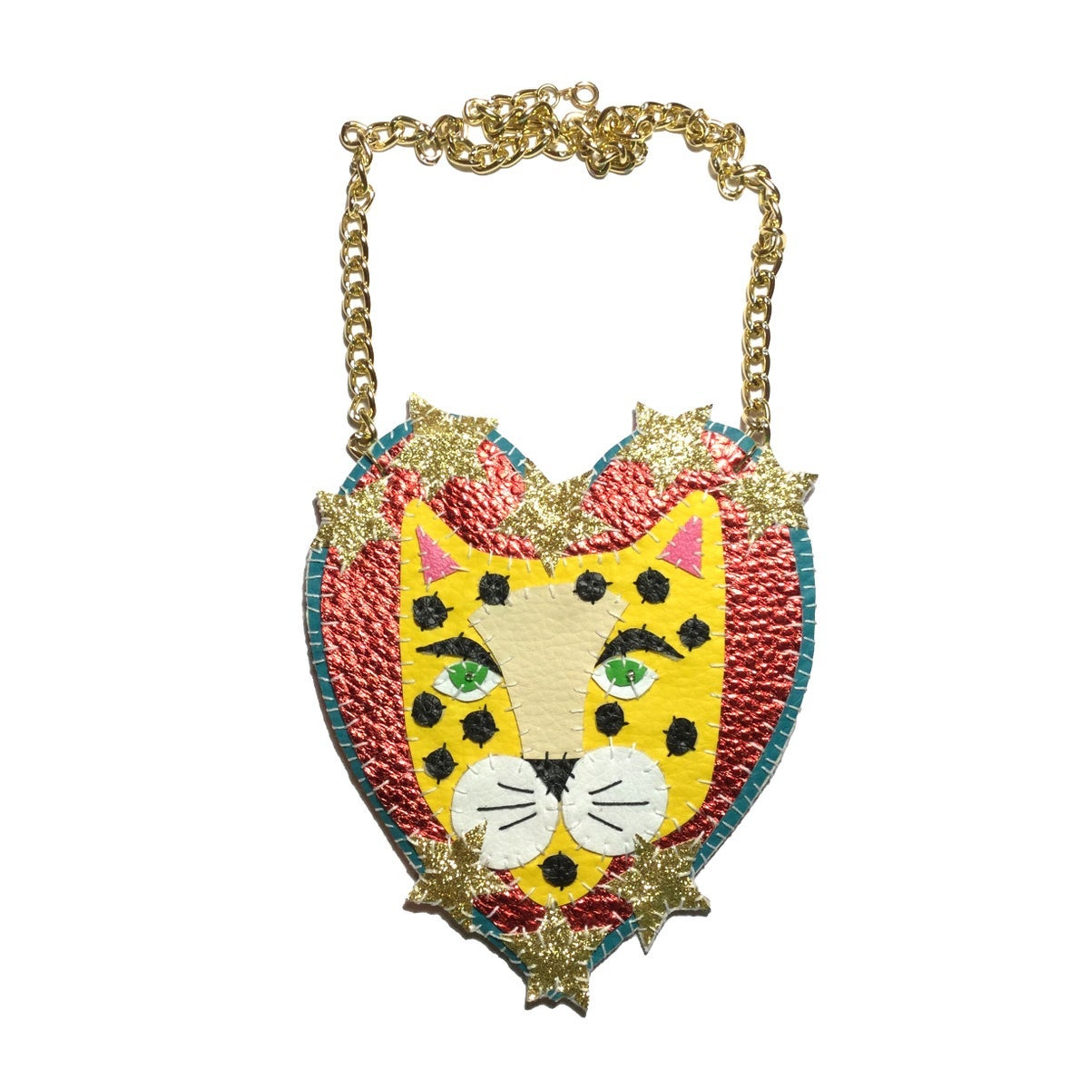 Image of Starry Leopard Necklace